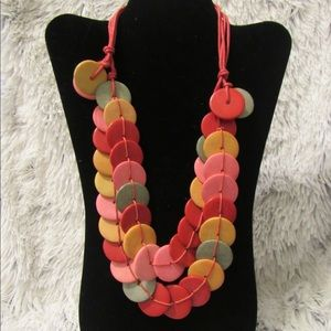 Jewelry - Multicolor statement necklace buy 3 get 1 for free
